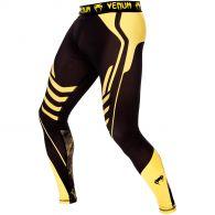 Venum Technical Spats - Black/Yellow