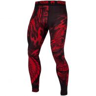 Venum Dragon's Flight Compression Tights - Black/Red