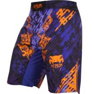 Venum Neo Camo Fightshorts  - Blue/Orange/Black