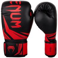 Venum Challenger 3.0 Boxing Gloves - Black/Red - 8 Oz