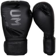 Venum Challenger 3.0 Boxing Gloves - Black/Black - 12 Oz