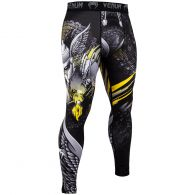 Venum Viking 2.0 Compresssion Tights - Black/Yellow