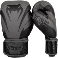 Venum Impact Boxing Gloves - Grey/Black - 10 Oz