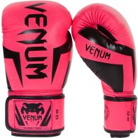 Venum Elite Boxing Gloves - Pink