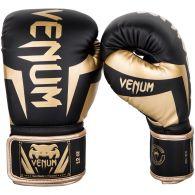 Venum Elite Boxing Gloves - Black/Gold