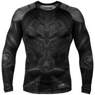 Venum Gladiator 3.0 Rashguard - Long Sleeves - Black/Black