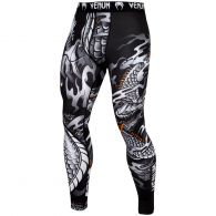 Venum Dragon's Flight Compression Tights - Black/White