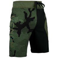 Хлопковые шорты Venum Assault - Хаки/Черный
