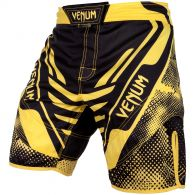 Venum Technical Fightshorts - Black/Yellow