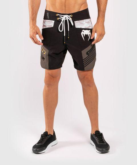 Пляжные шорты Venum Cargo - Черный/Серый