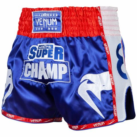Venum Super Champ Muay Thai Shorts - Exclusive - Blue
