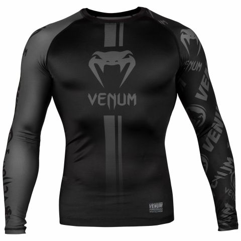 Venum Logos Rashguard - Long Sleeves