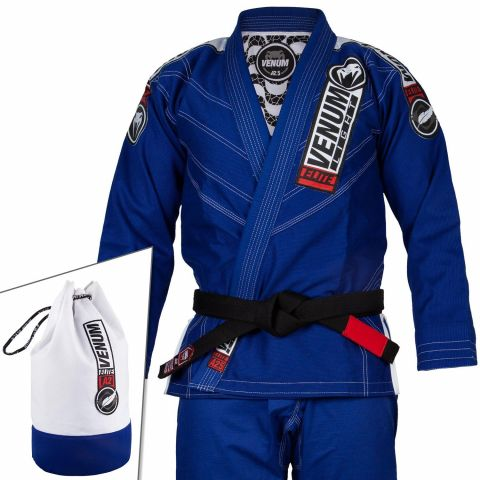 Venum Elite Light 2.0 BJJ Gi - (Bag Included) - Blue