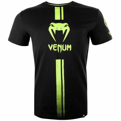 Venum Logos T-shirt - Black/Neo Yellow