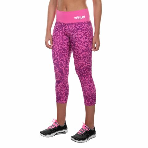 Venum Fusion Cropped Leggings - Pink