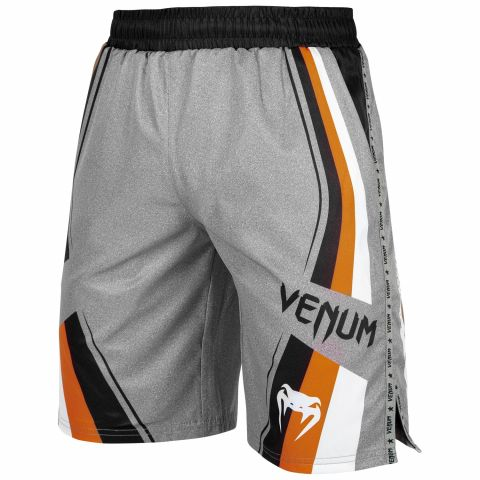 Шорты для тренировок Venum Cutback 2.0 - Heather Grey/Orange