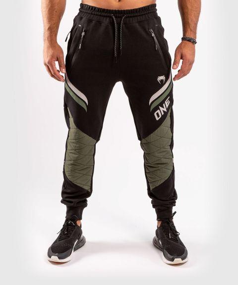 Штаны для бега ONE FC Impact  - Чёрный/хаки