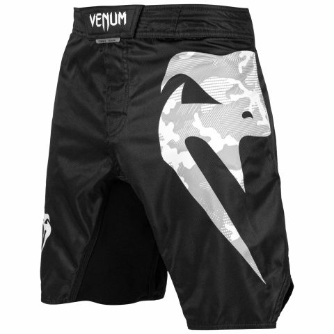 Venum Light 3.0 Fightshorts - Black/White Camo