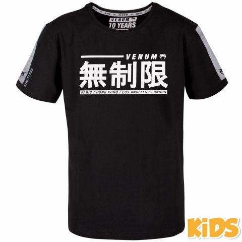 Venum Limitless Kids T-shirt - Black/White