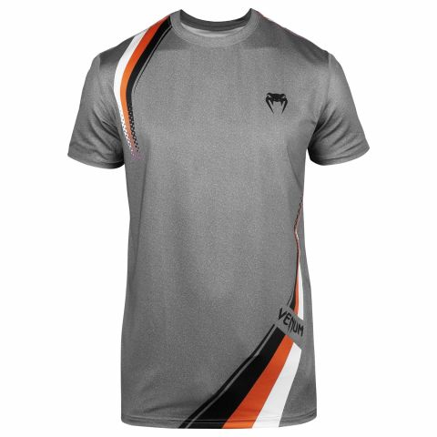 Футболка Venum Cutback 2.0 Dry Tech - Heather Grey/Orange
