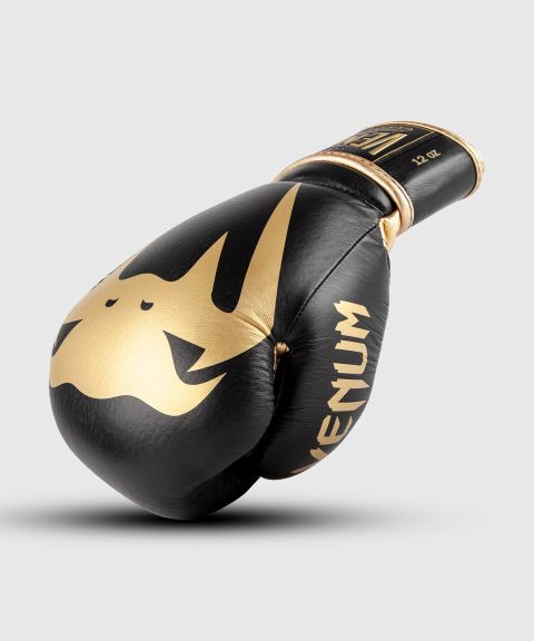 Venum Giant 2.0 Pro Boxing Gloves Velcro - Black/Gold