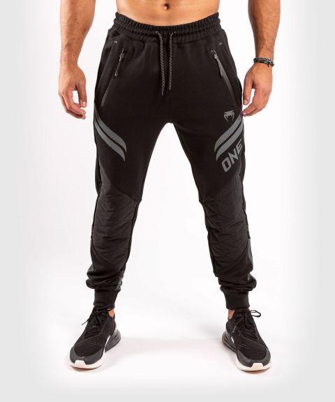 Штаны для бега ONE FC Impact  - Черный/Черный