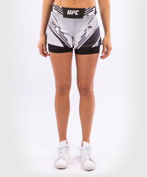 UFC Venum Authentic Fight Night Women's Shorts - Short Fit - White