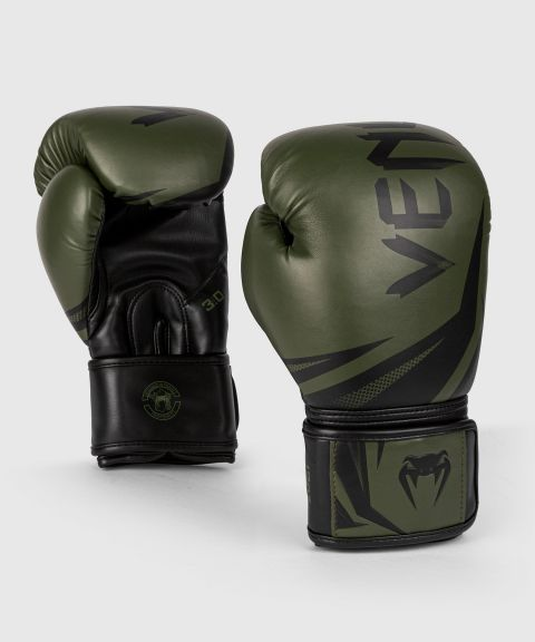 Venum Challenger 3.0 Boxing Gloves - Khaki/Black