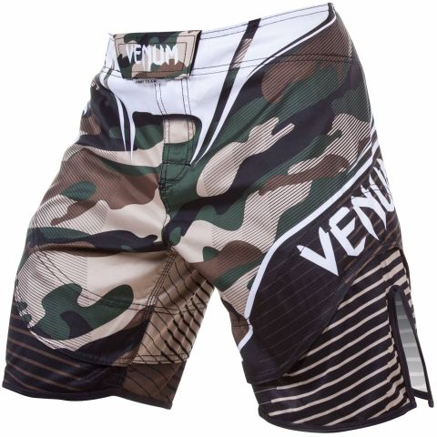 Venum Camo Hero Fightshorts - Green/Brown - XXS