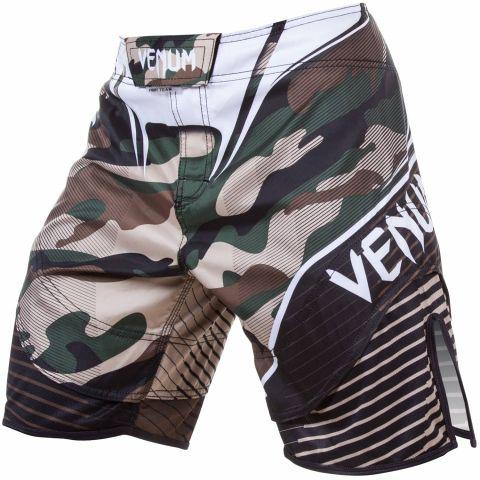 Venum Camo Hero Fightshorts - Green/Brown