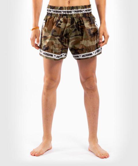 Venum Parachute Muay Thai Shorts - Forest Camo