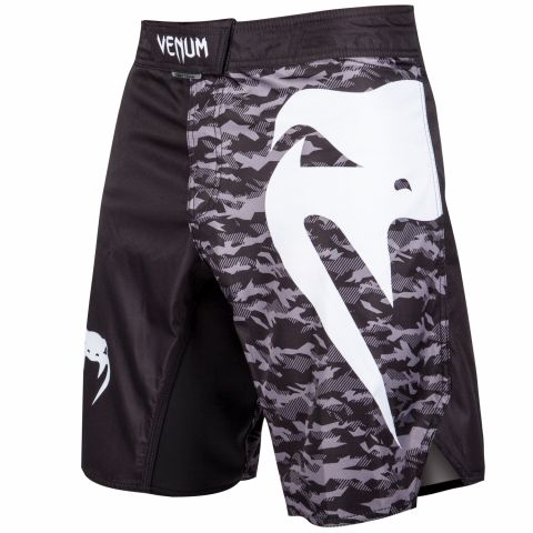 Venum Light 3.0 Fightshorts - Black/Urban Camo