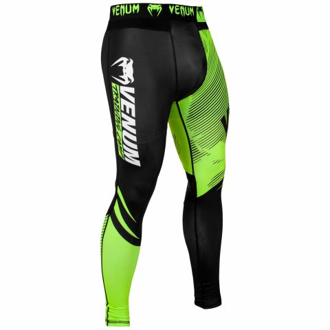 Venum Training Camp 2.0 Compresssion Tights - Black/Neo Yellow
