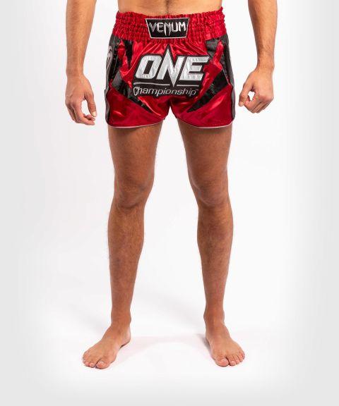 Шорты для тайского бокса Venum x ONE FC  - Красный
