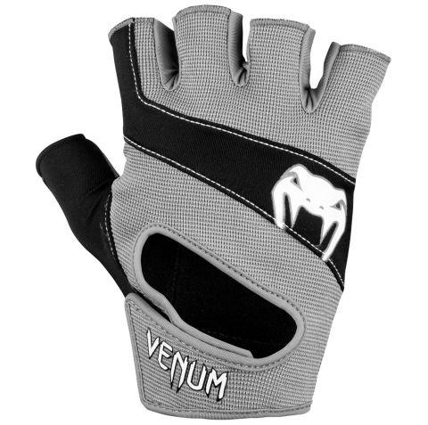 Тренировочные перчатки Venum Hyperlift - черный/серый