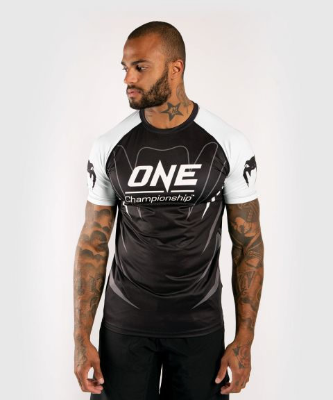 Футболка Dry Tech Venum x ONE FC  - Белый/Черный
