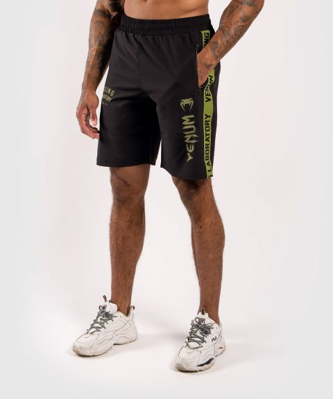Venum Boxing Lab Fightshorts - Black/Green