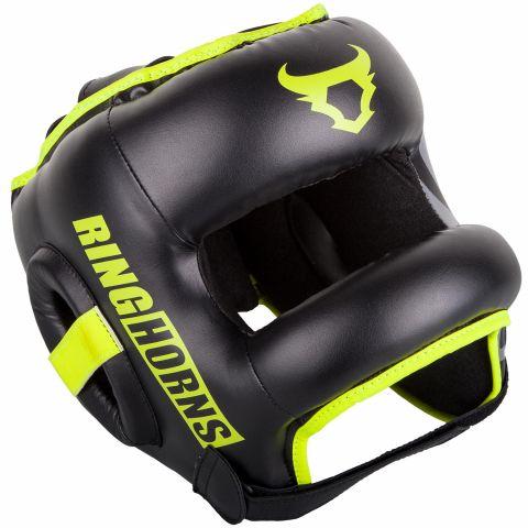 Защитный шлем Ringhorns Nitro - Черный/Нео-желтый