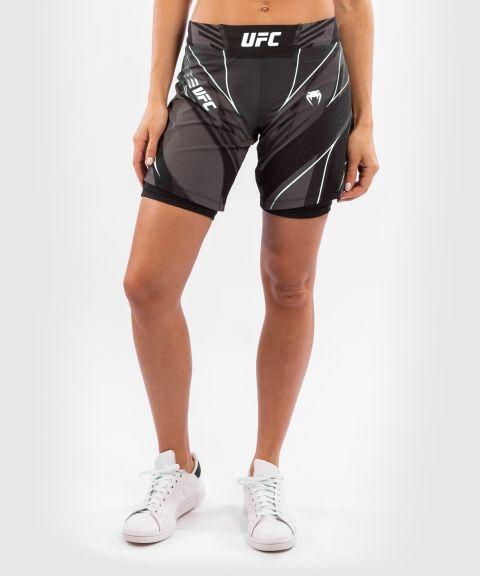 UFC Venum Authentic Fight Night Women's Shorts - Long Fit - Black