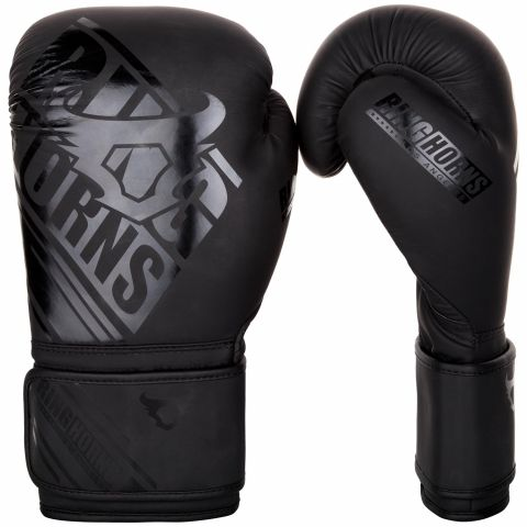 Ringhorns Nitro Boxing Gloves - Black/Black