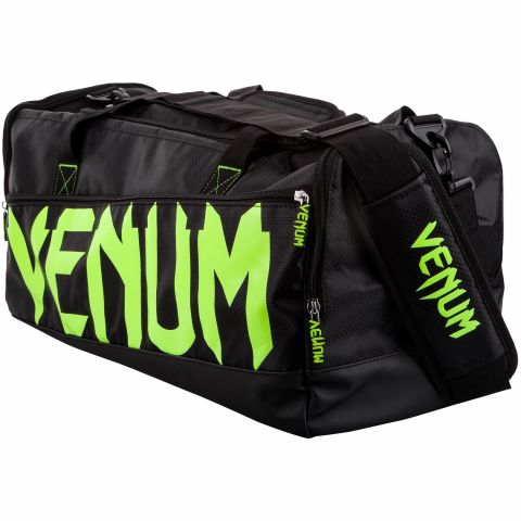 Venum Sparring Sport Bag - Black/Neo Yellow