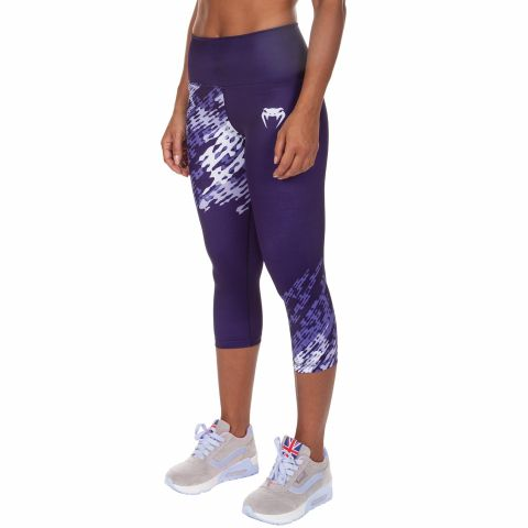 Venum Neo Camo Cropped Leggings - Purple