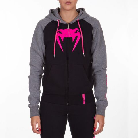 Venum Infinity Hoodie with Zip - Black/Grey