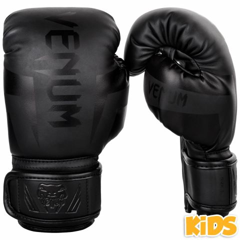 Venum Elite Boxing Gloves Kids - Exclusive - Matte/Black