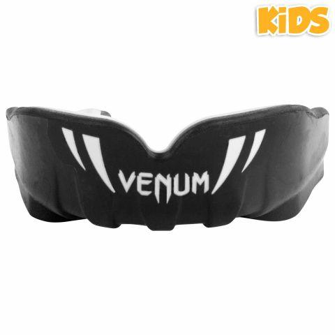 Venum Challenger Kids Mouthguard - Black/White