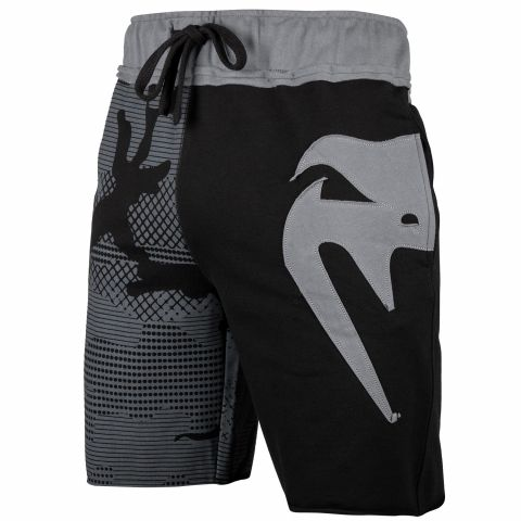 Venum Assault Cotton Shorts - Black/Grey