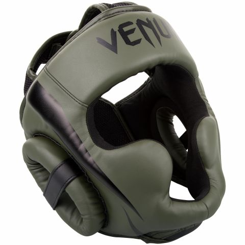 ШЛЕМ VENUM ELITE HEADGEAR - ХАКИ/ЧЕРНЫЙ