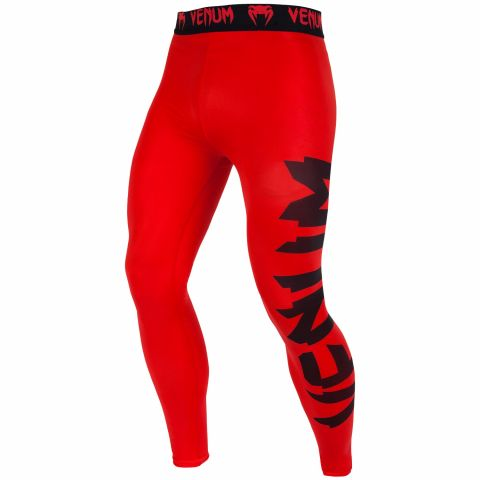 Venum Giant Compresssion Tights - Red/Black