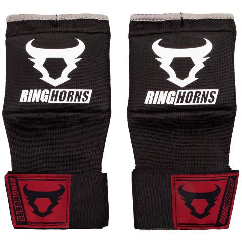 Ringhorns Charger Handwraps - Black - L/XL