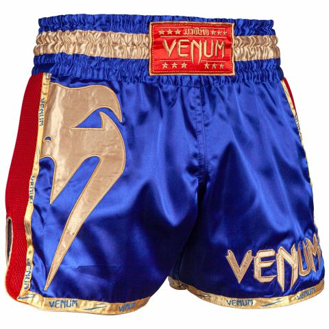 Venum Giant Muay Thai Shorts - Navy/Gold
